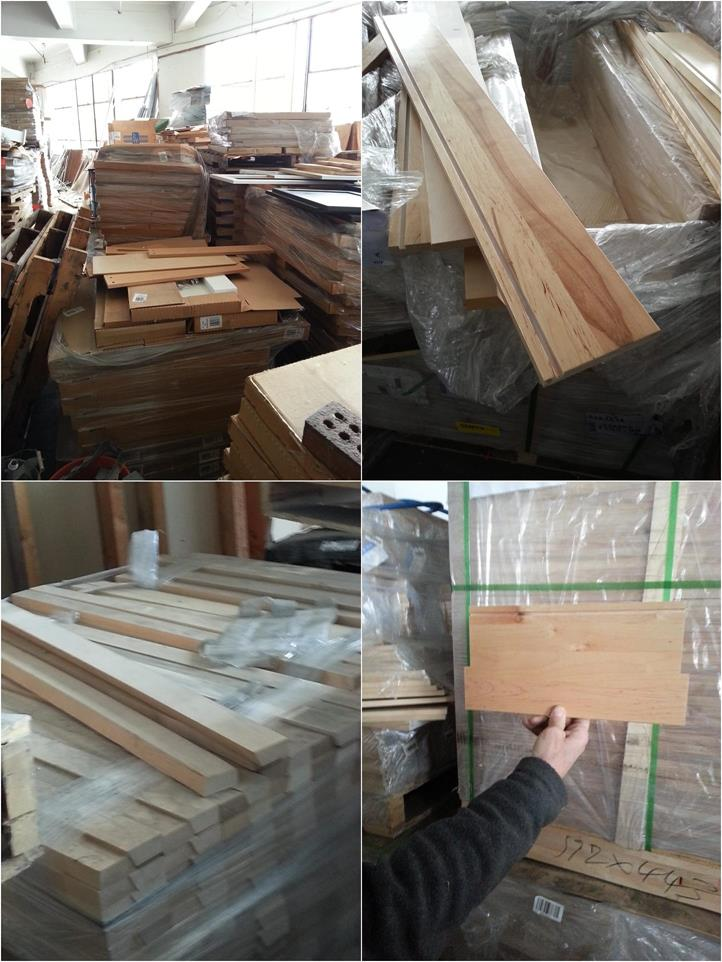 11259 - HUGE INVENTORY WOODEN PARTS FOR FURNITURE AND CABINETS USA