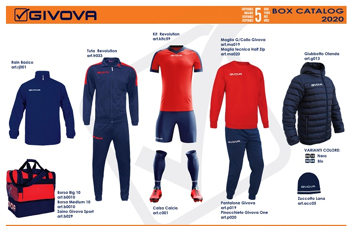 35585 - New box composition GIVOVA Europe
