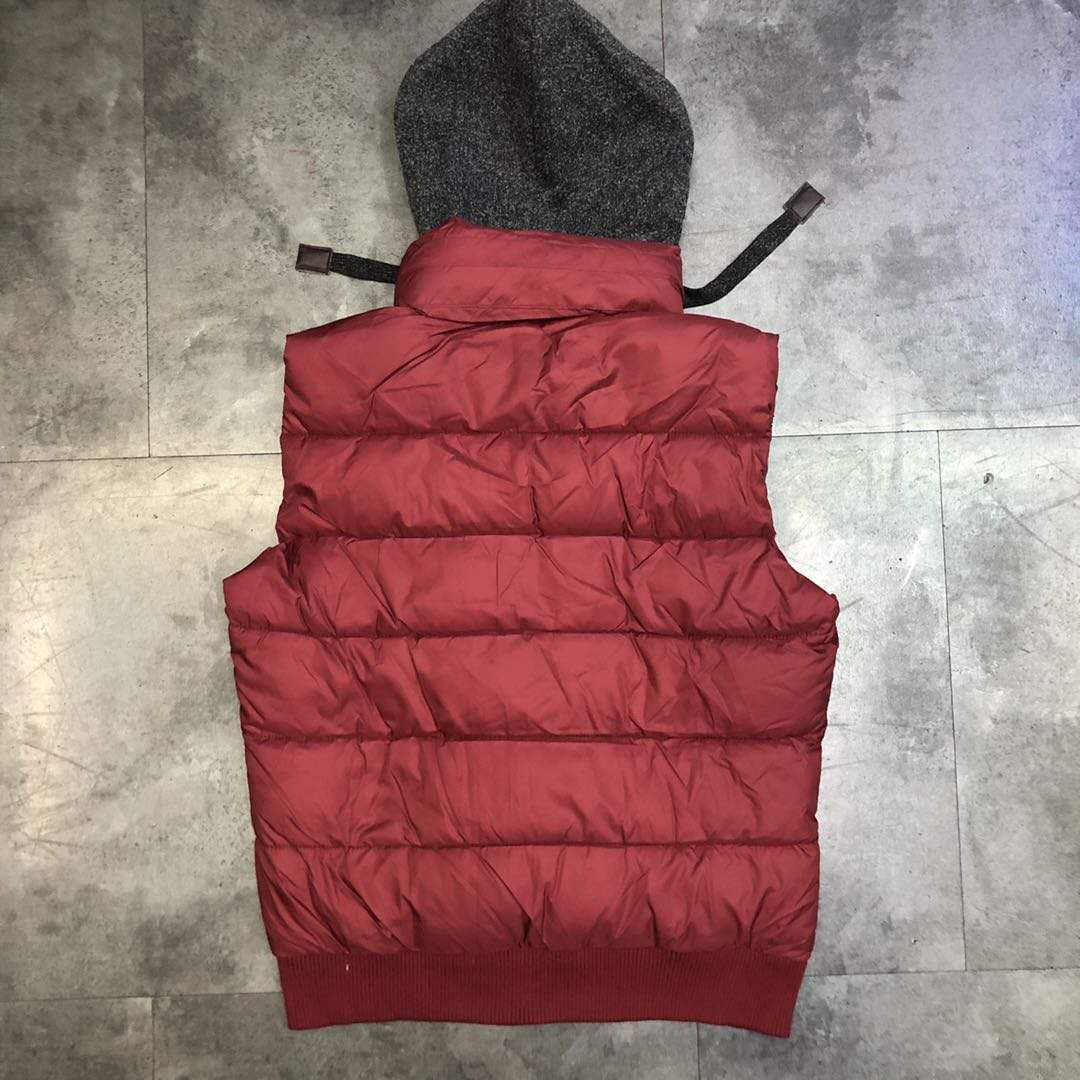 39117 - Men's Padded Vest With Hood China