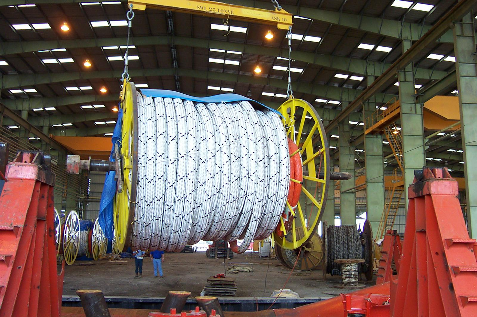 41038 - Used Polyester Ship Mooring Rope USA