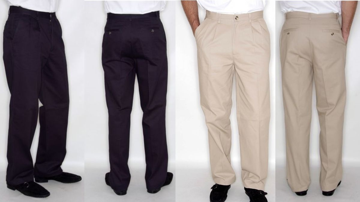 41093 - CLOTHING WAREHOUSE STOCK CLEARANCE CHINO TROUSERS Europe
